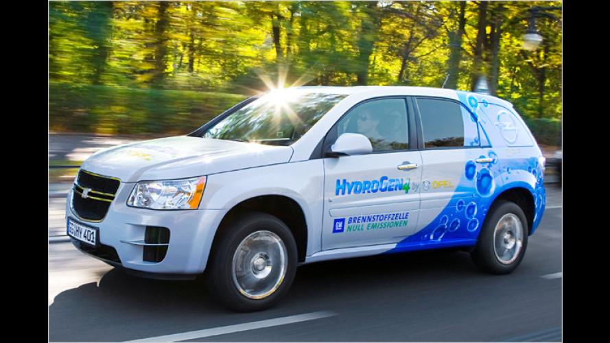 HydroGen4-Erprobung in Berlin: Opel ist zufrieden