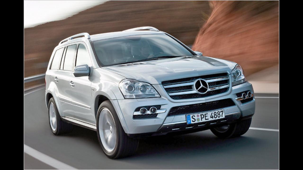 Mercedes GL 350 CDI BlueEfficiency 4Matic 7G-Tronic