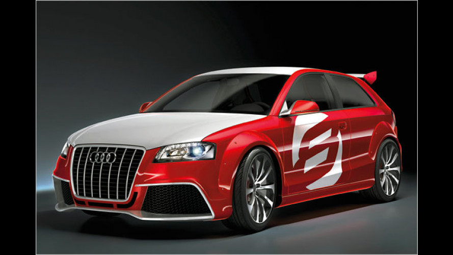 TDI-Extremsport: Audi präsentiert A3 TDI clubsport quattro