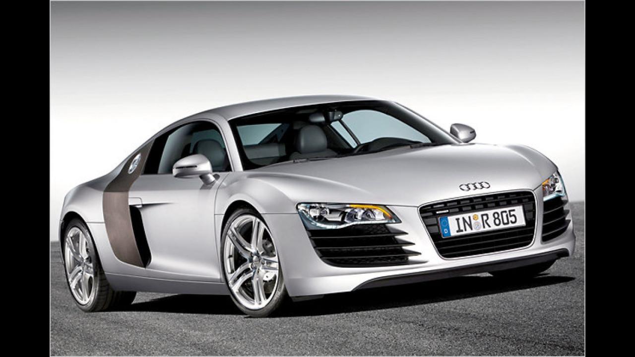 Platz 14: Audi R8
