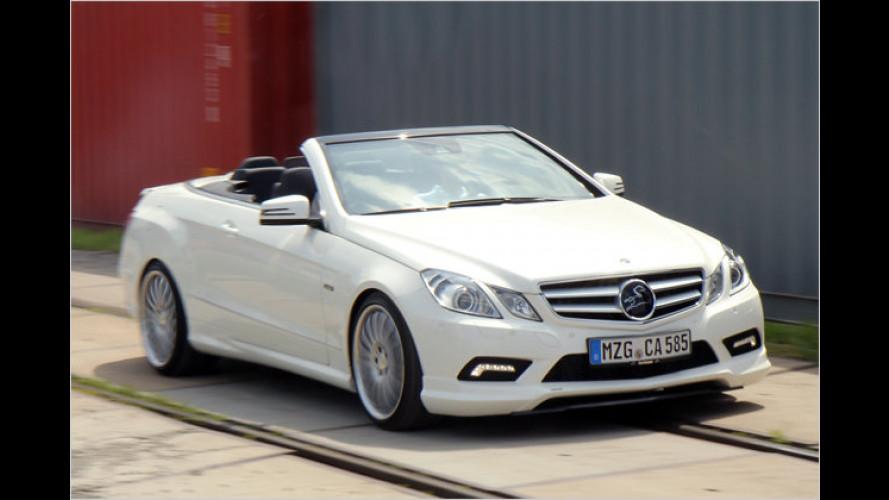 Feinschliff: Carlsson tunt das Mercedes E-Klasse Cabrio
