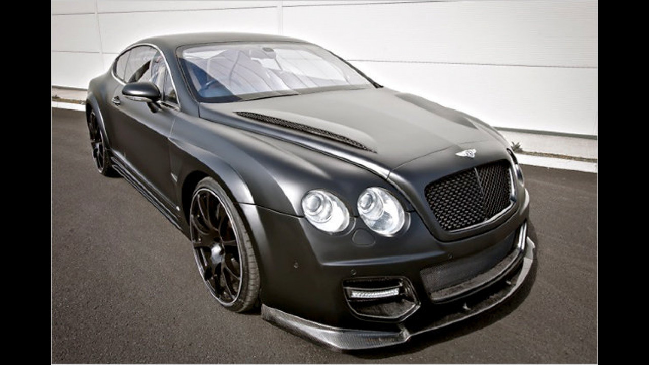 Bentley mit dicker Hose
