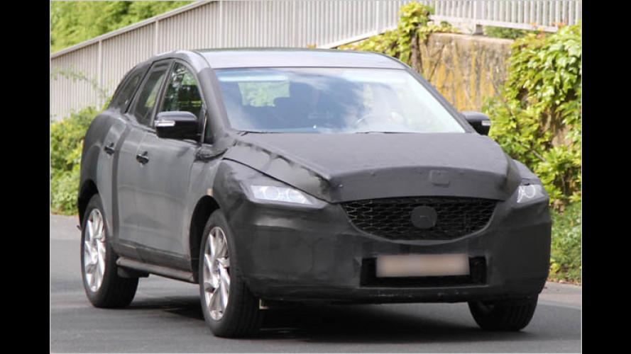 Mazda CX-5: Erlkönig erwischt