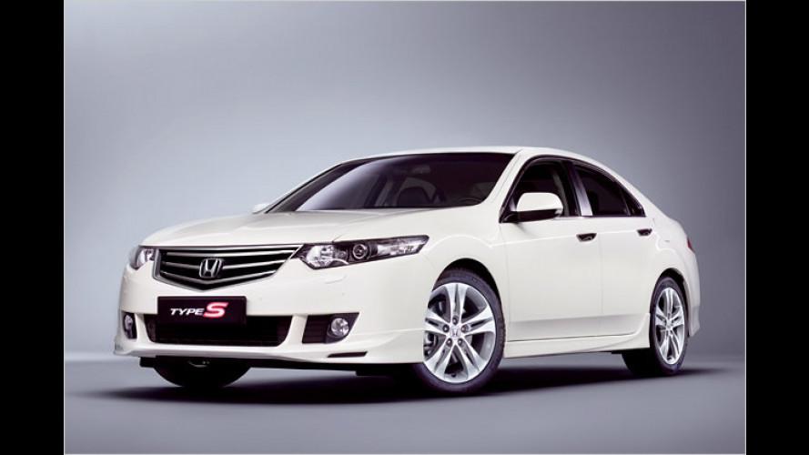 Scharfer Typ: Honda bringt den Accord als limitierten Type S