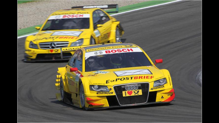 DTM in München: PS-Boliden rasen durchs Olympiastadion