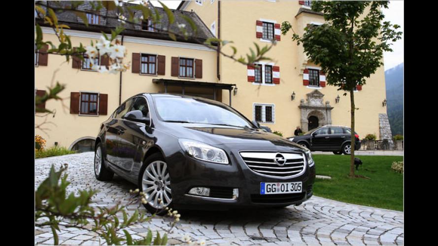 Auf Sissis Spuren: Opel zeigt Insignia im Schloss Fuschl
