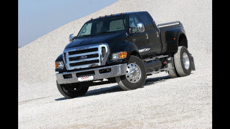 Ford Pick-up F-650: Der Doppel-Whopper für die Straße