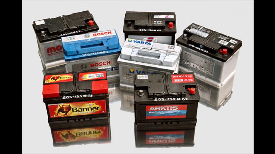 Unter Strom: Sieben Batterien im GTÜ-Test