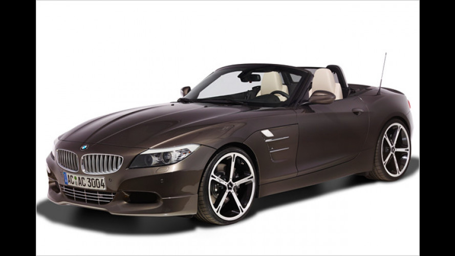 Starker Auftritt: AC Schnitzer verfeinert den BMW Z4