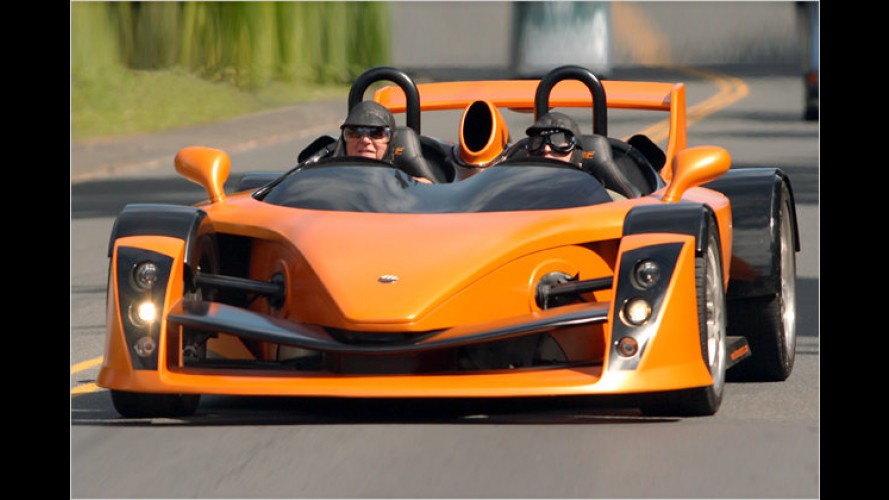 Extrem-Roadster aus Neuseeland: Hulme CanAm mit 612 PS