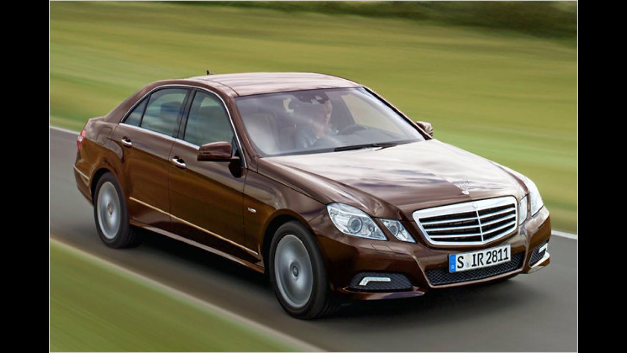 Platz 1 Oberklasse: Mercedes E-Klasse