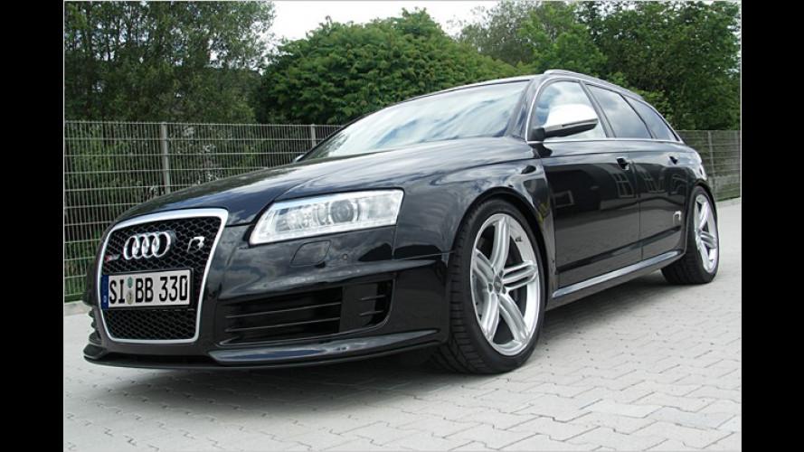 Schneller als die Polizei erlaubt: Audi RS 6 Avant von B&B