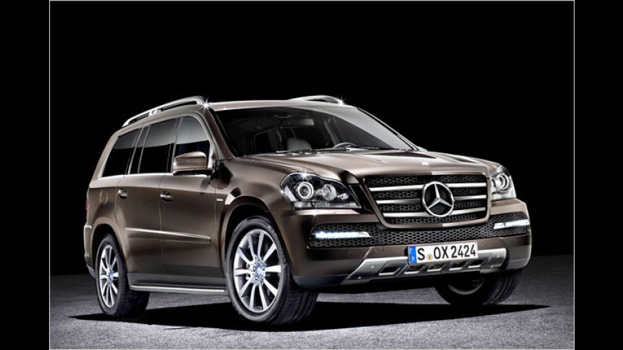 "Mercedes GL ,Grand Edition"": First Class fürs Gelände"