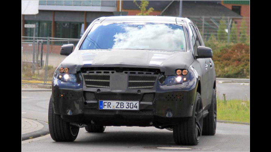 Erwischt: Mercedes erprobt den neuen GL