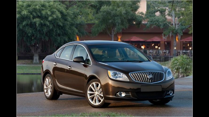 Buick Verano: Stufenheck-Astra für die USA