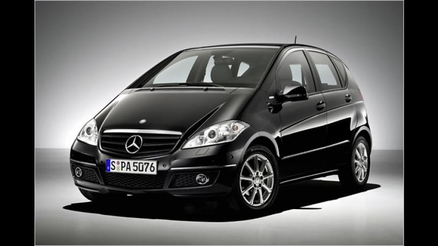 Sparen mit dem Baby-Benz: Sondermodelle der A-Klasse