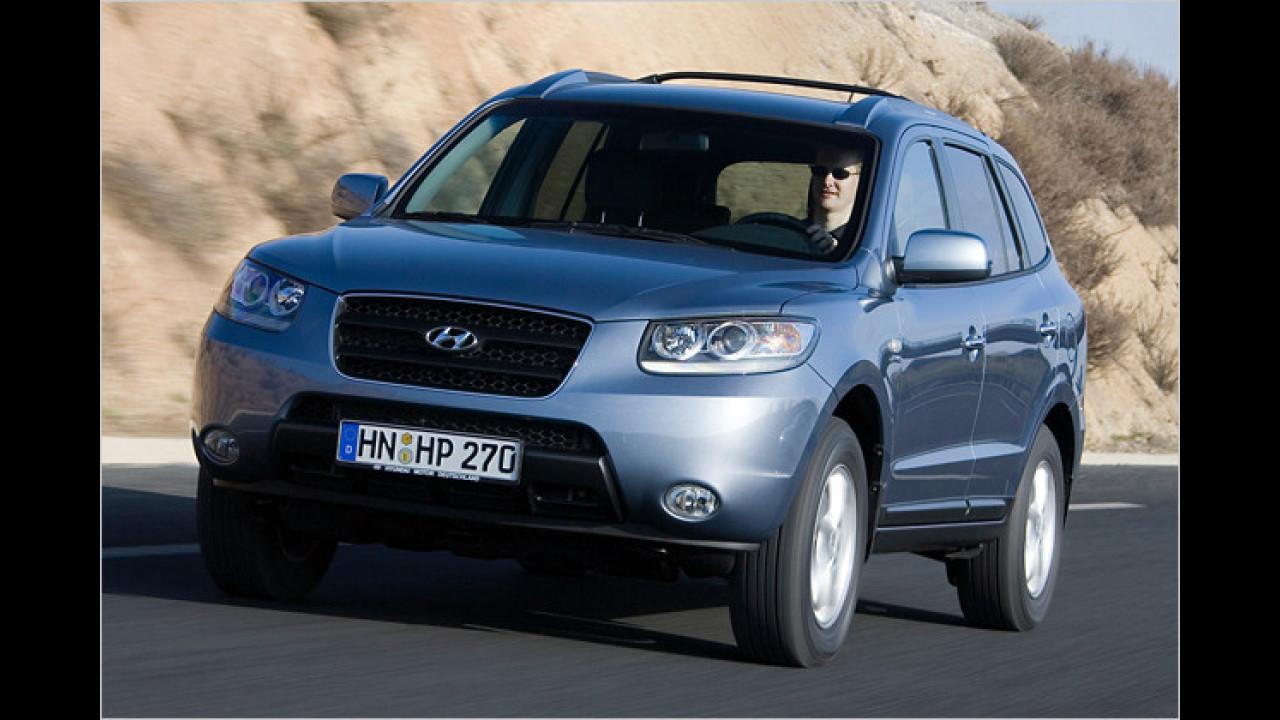 Hyundai Santa Fe 2.2 CRDi GLS 2WD 5-Sitzer DPF