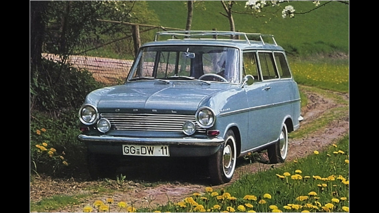 Opel Kadett A Caravan (1963)