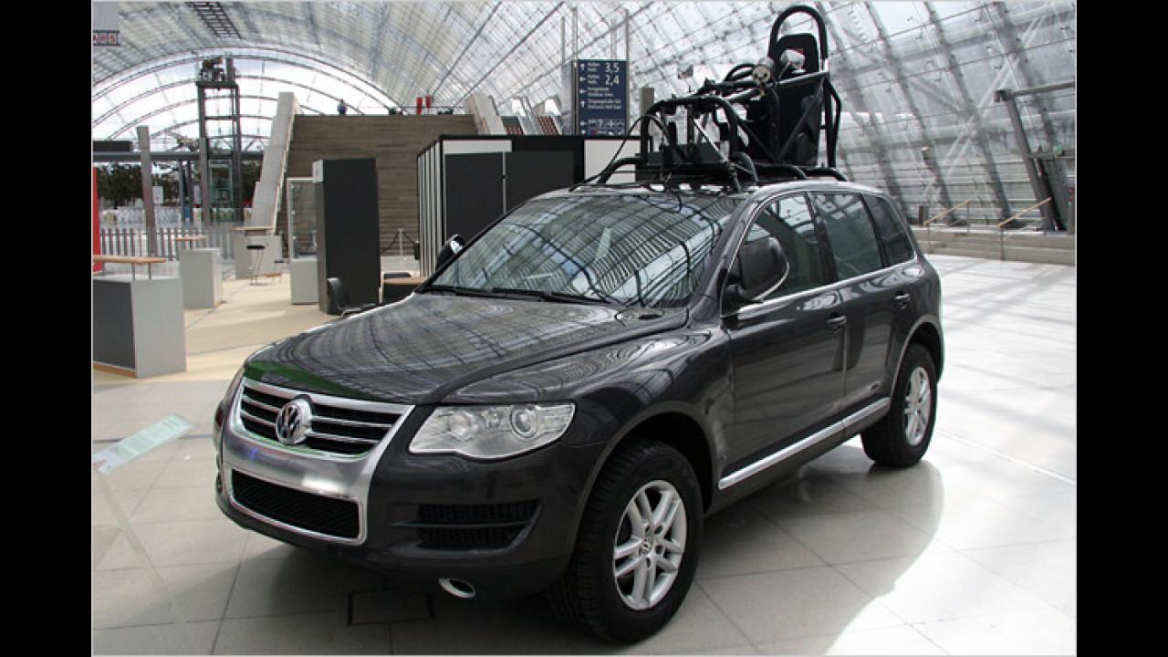VW Touareg Stuntfahrzeug