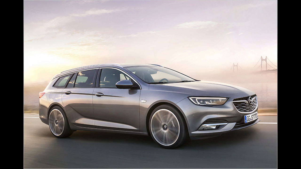 Opel Insignia Sports Tourer: 4,99 Meter