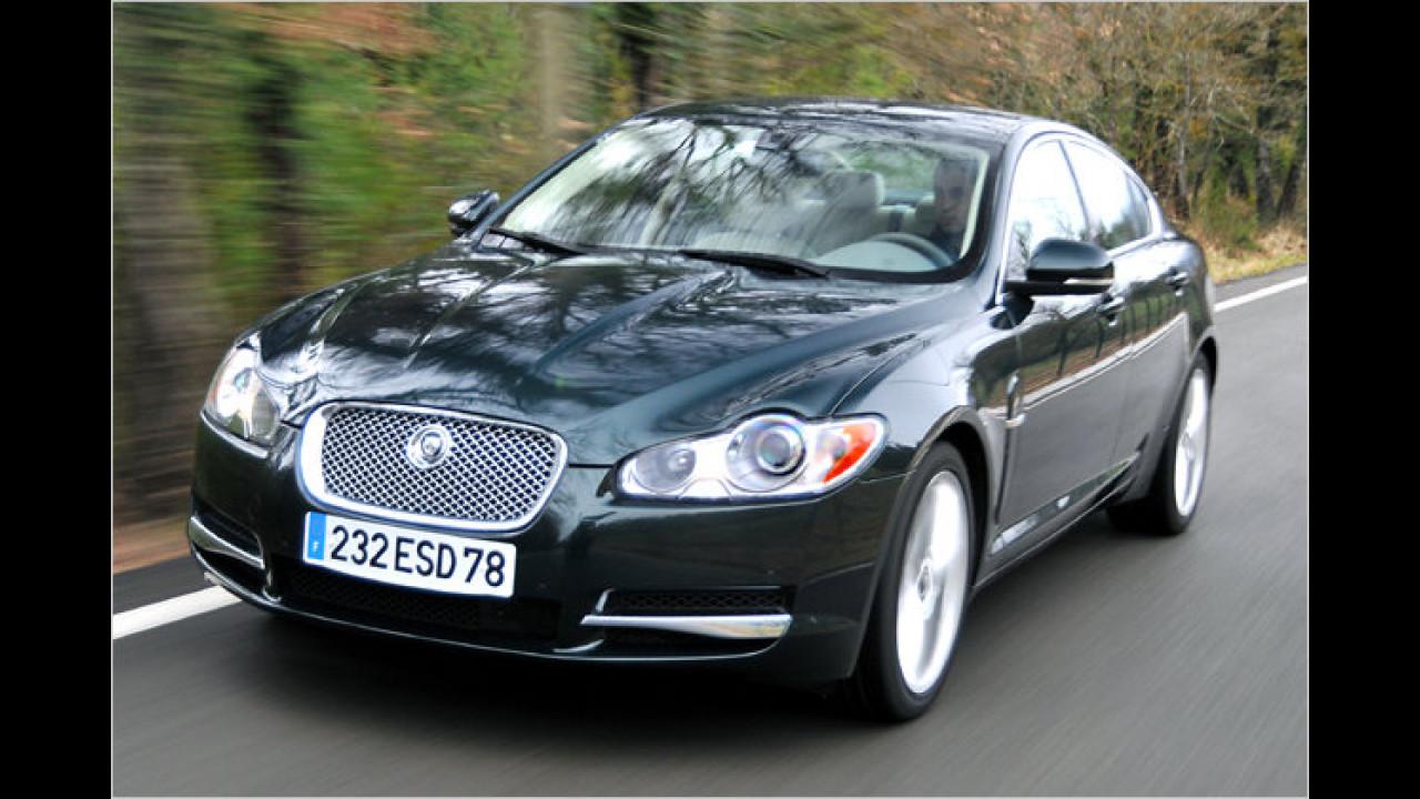 Jaguar XF 3.0 V6 Diesel DPF