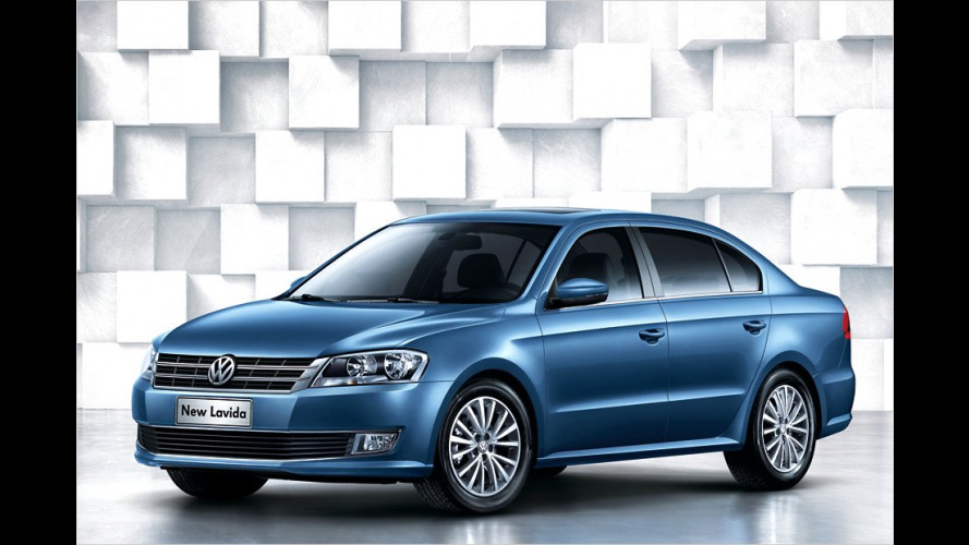 New Lavida: VW in Peking