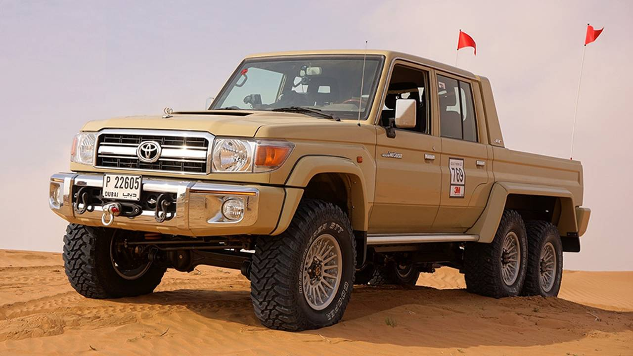 Multidrive Technology Toyota Land Cruiser 6X6