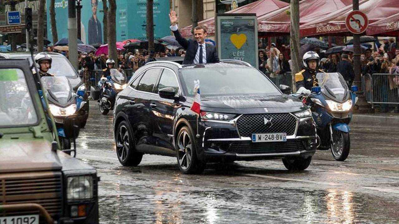Emmanuel Macron (Frankreich): DS 7 Crossback