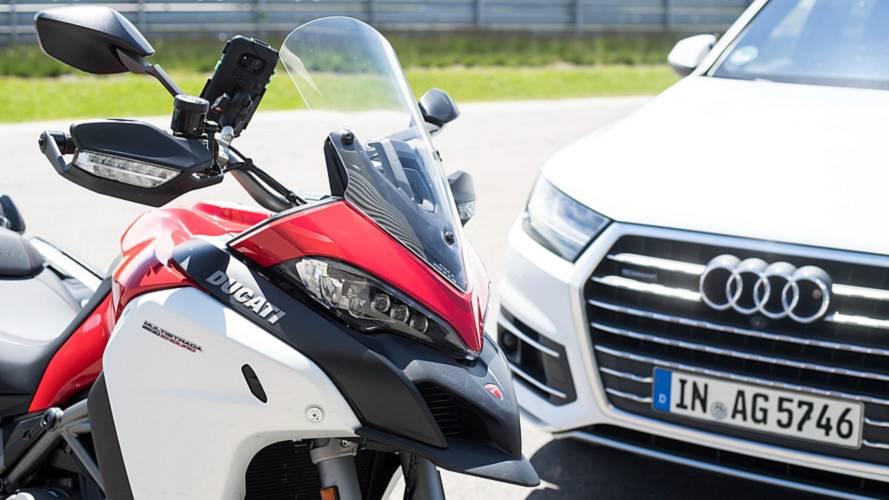 Ducati continúa trabajando en la interacción entre vehículos e infraestructuras