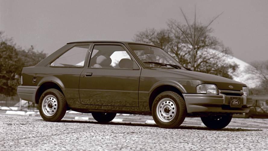 #TBT Motor1.com: Ford Escort comemora 35 anos de lançamento no Brasil