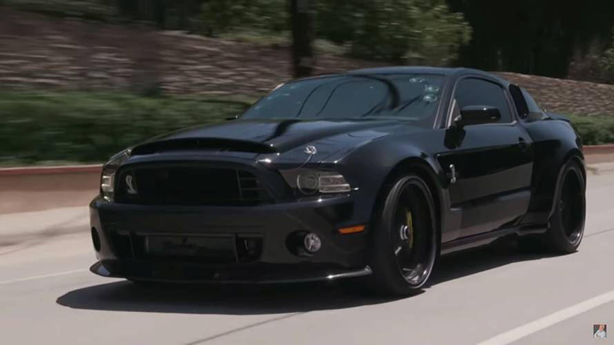 'Passion' Star Jim Caviezel Takes Shelby GT500 To Jay Leno's Garage