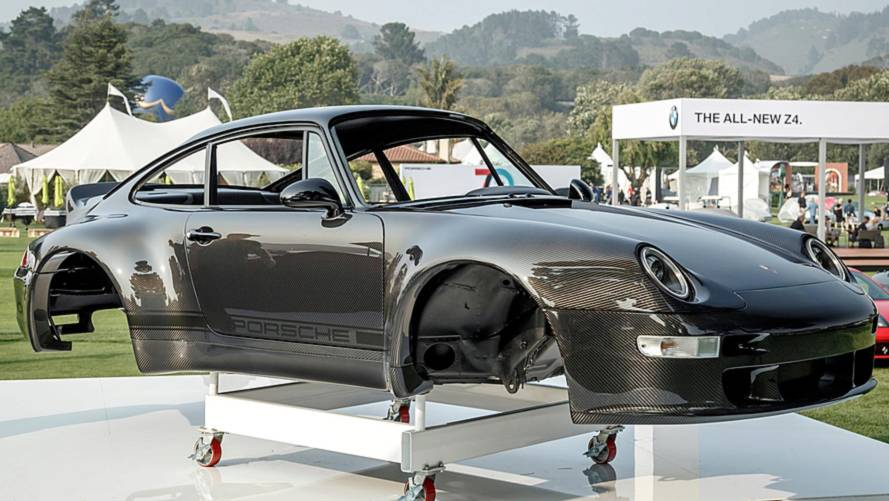 Gunther Werks Displays Carbon Fiber 911 Body At Pebble Beach