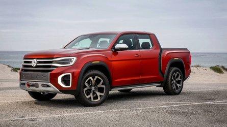VW Atlas Tanoak será base para a próxima geração da Amarok, diz site