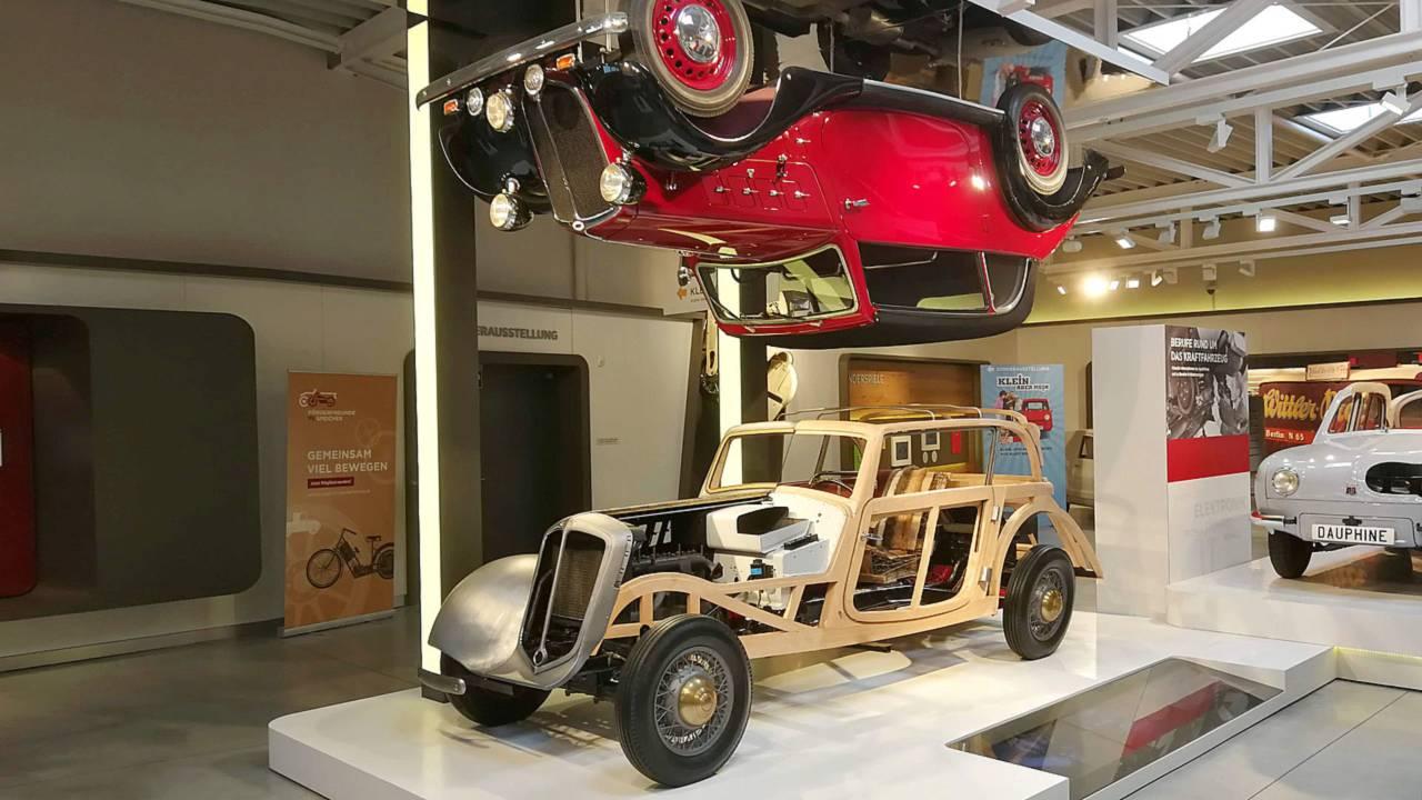 DKW wooden body