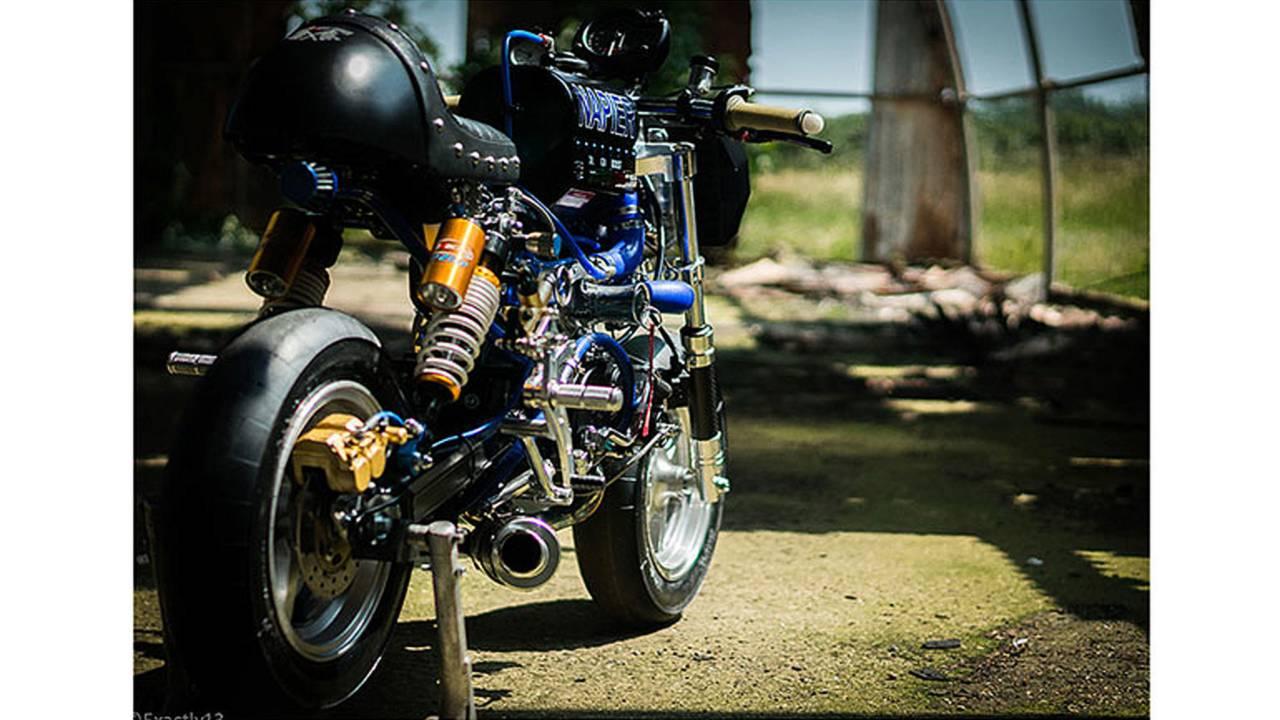 World's Fastest Honda Monkey Bike