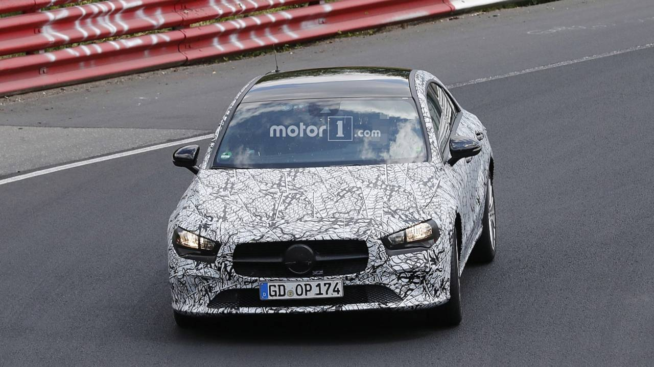 New Mercedes Cla Brings Its Shiny Door Handles To The Nurburgring
