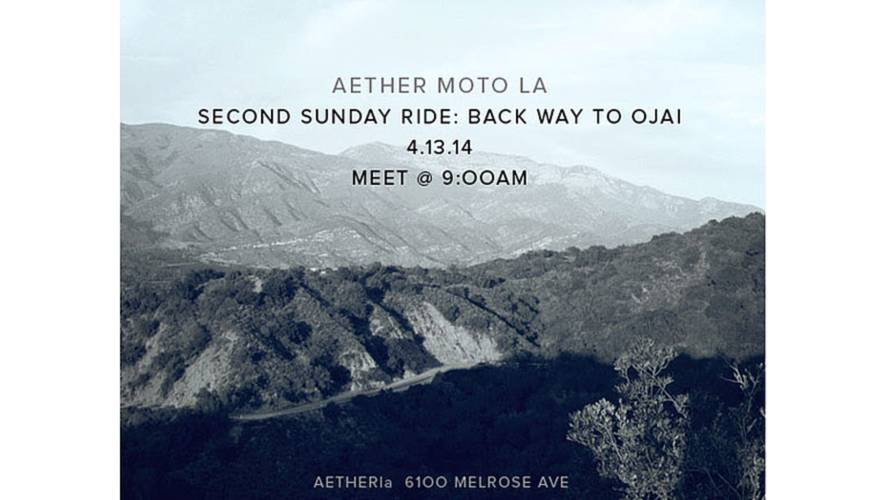 Aether Apparel Second Sunday Ride Los Angeles