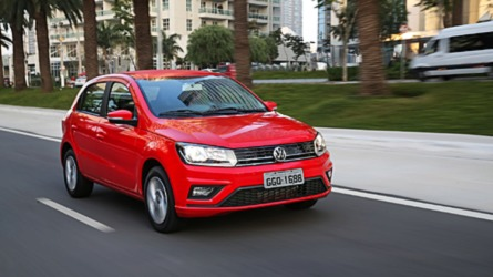 Mais vendidos na 1ª quinzena: VW Gol em 2º e Chevrolet Spin no top 10