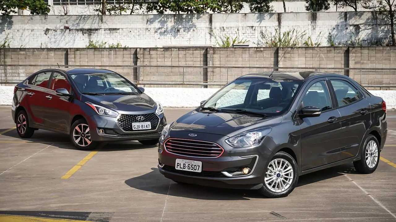 Ford Ka Sedan Titanium X Hyundai Hbs Premium