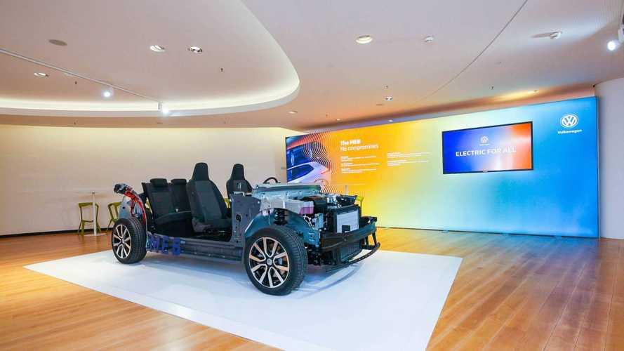 Das ist der Modulare E-Antriebs-Baukasten (MEB) von VW