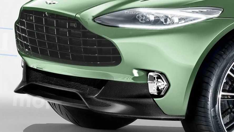 Aston Martin DBX render'ları