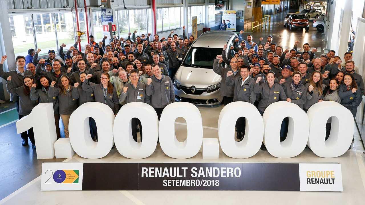 Renault Sandero 1 milhão