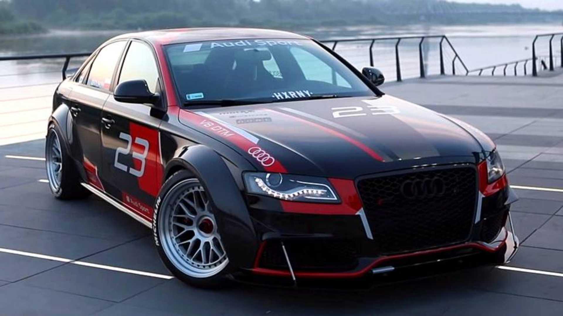 Front Wheel Drive Audi A4 2 0 Tdi Turned Into V8 Quattro Machine