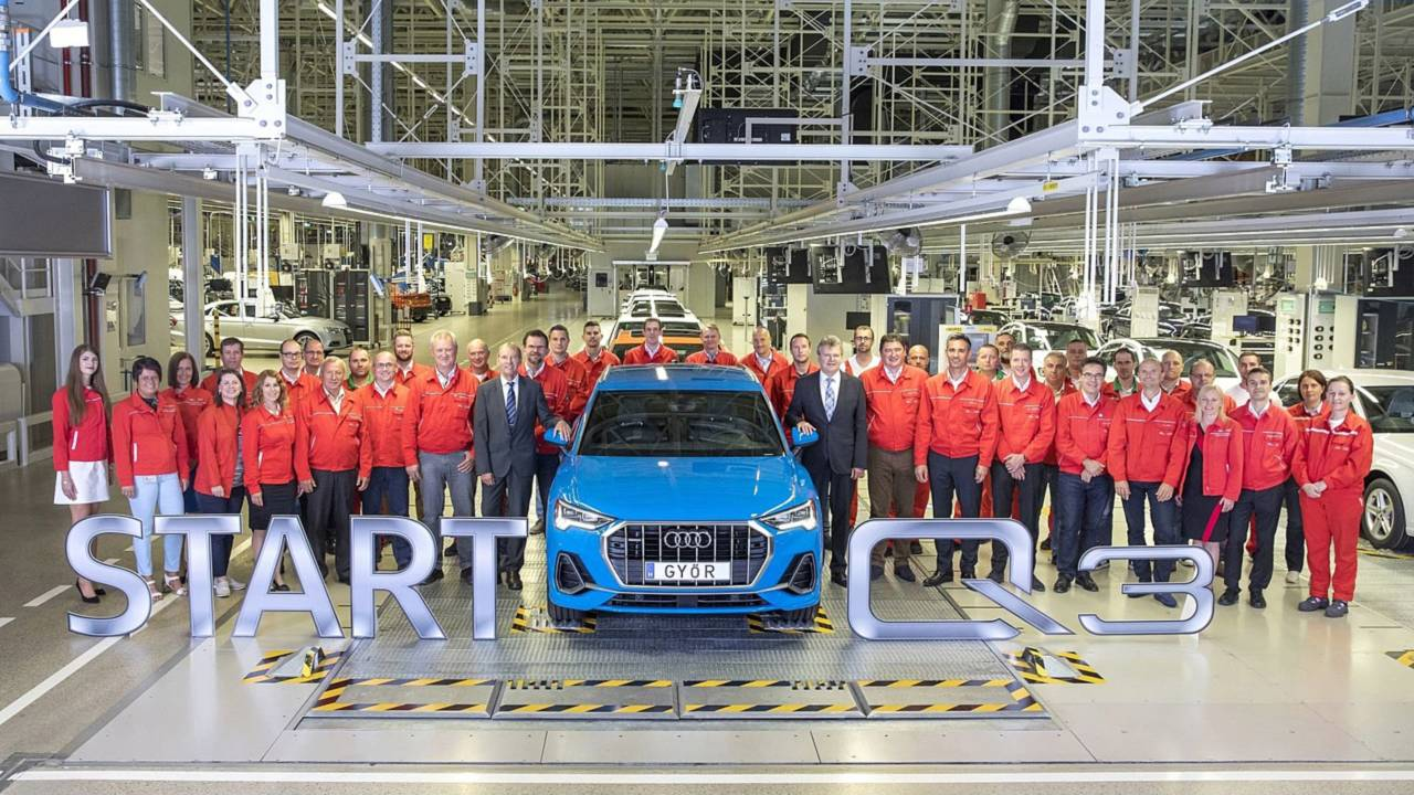 Start of production of the Audi Q3