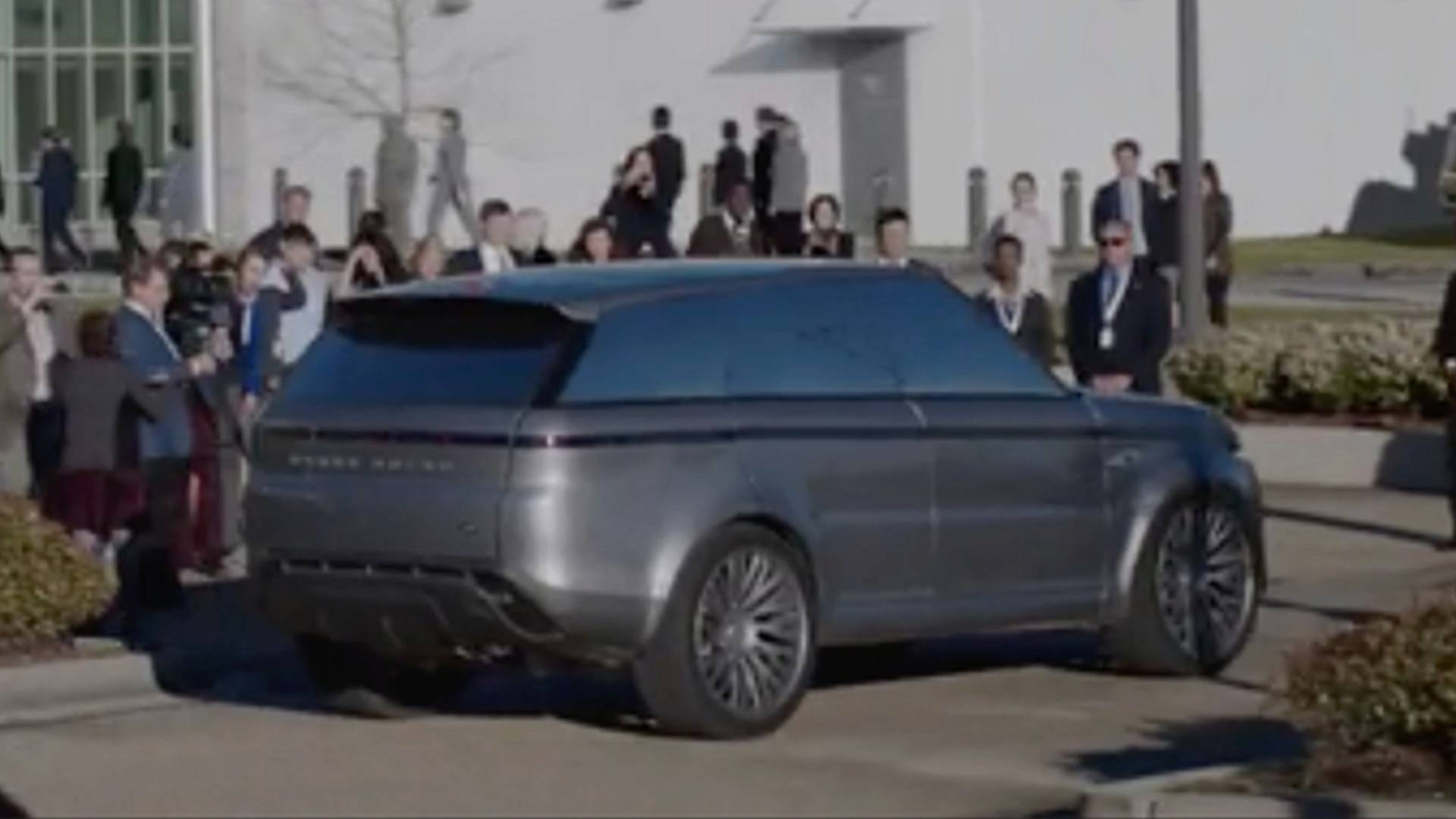 "land rover near-future concept to appear in ""the first"" on hulu"