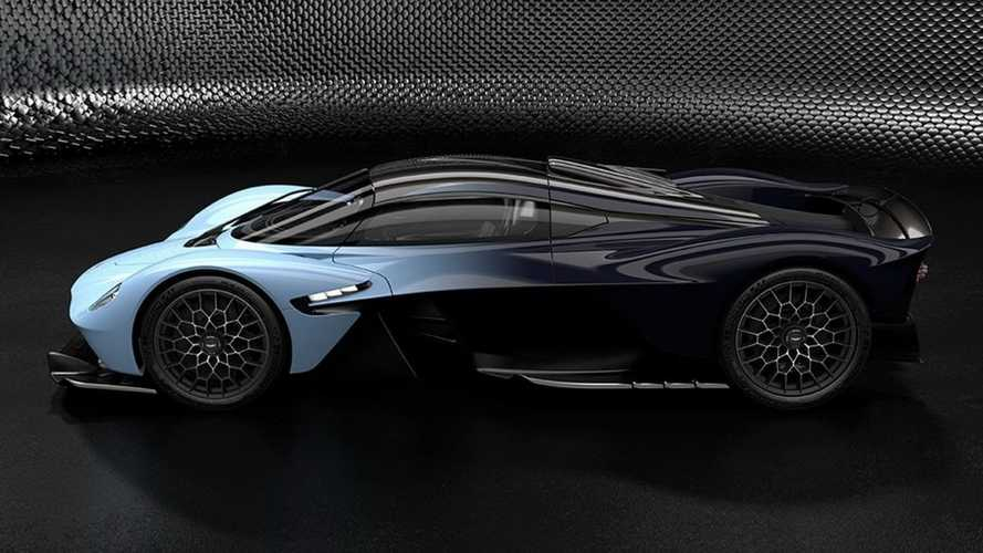 Aston Martin Valkyrie looks unworldly in new official photos
