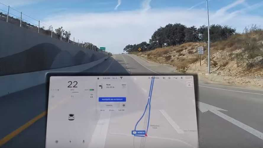 Watch Tesla Model 3 Exit Highway By Itself On Autopilot