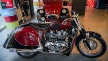 Une moto spéciale pour les 70 ans de la 2CV