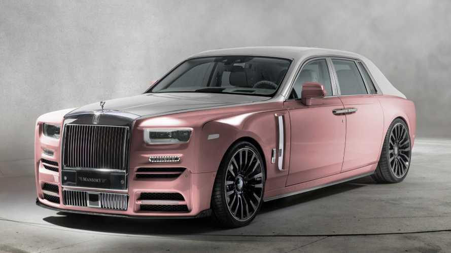 Rolls-Royce Phantom, quella di Mansory è la più sfacciata