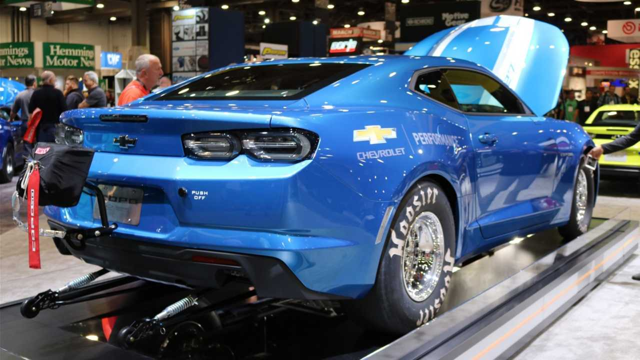 2019 Chevy COPO Camaro Gets Retro Look To Mark 50-Year ...